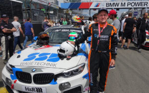 Fabian Köster Physiotherapeut 24 Stunden Rennen Nürburging